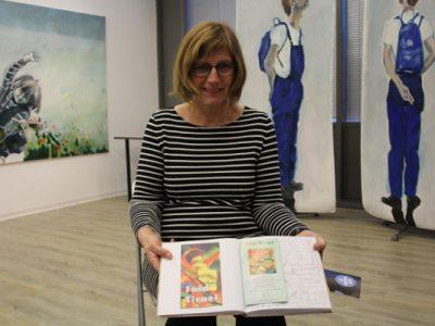 Besuch beim Kunstverein