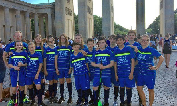 Floorball: 4. Platz im Bundesfinale des Schulcups