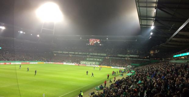 Mit WERDER ins Viertelfinale des DFB-Pokal