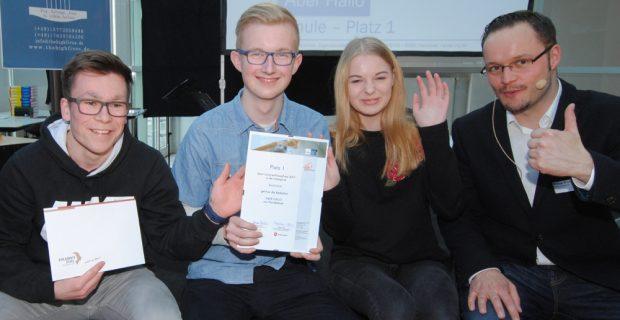 1. Platz: JuniorenPressePreis für ABER HALLO
