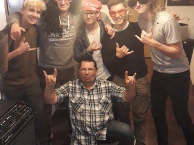 Zu Besuch beim ehemaligen Tonstudio von Mike Leckebusch