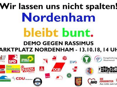 """""""Nordenham bleibt bunt"""""""