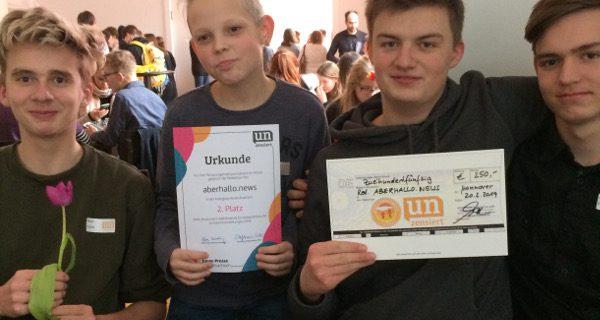 """Zwei Preise im """"unzensiert""""-Wettbewerb"""