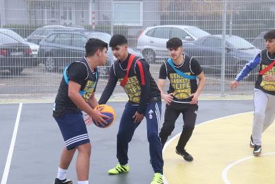 Streetballfeld eingeweiht